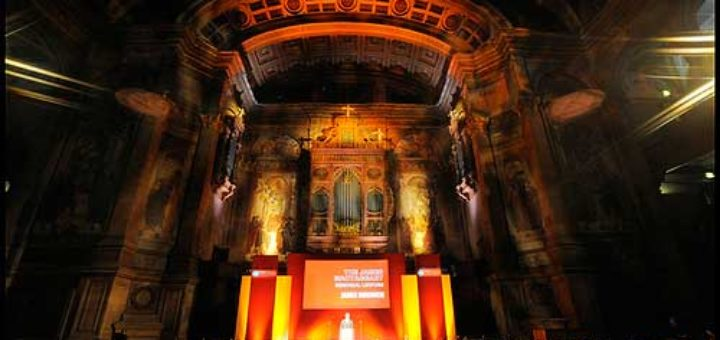 The annual James MacTaggert Memorial Lecture at the MGEITF