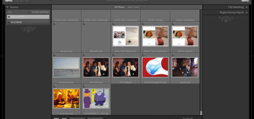 Screenshot of Lightroom 3 public beta 2