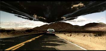 Scene from music video 'Stylo', the debut single from the album Plastic Beach by Gorillaz.