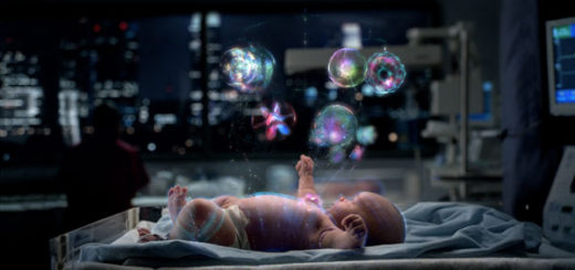 Image of 'Data Baby' spot for IBM by Motion Theory directed by Mathew Cullen