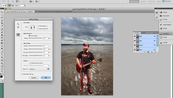 New features of Photoshop CS5 will be demonstrated on the Adobe tour