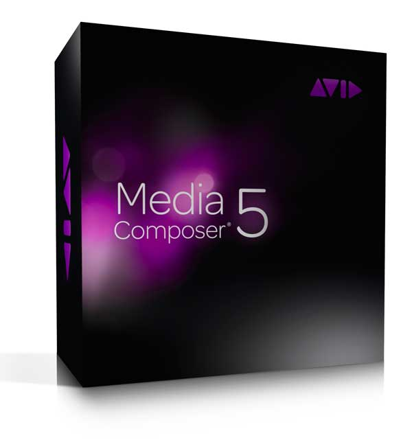 Avid Media Composer 5 box shot