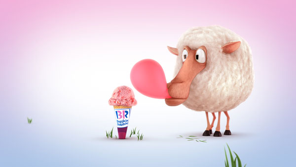 "Barry Baaa image from ""Pink Bubblegum"" (Image courtesy of Nathan Love)"