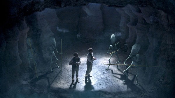 """""""The First Men in the Moon"""" Can Do Productions. Picture courtesy of the BBC"""