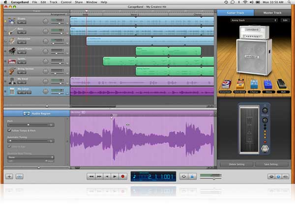 Flex Time and Groove Matching fix simple timing mistakes and perfect the rhythm in your recordings