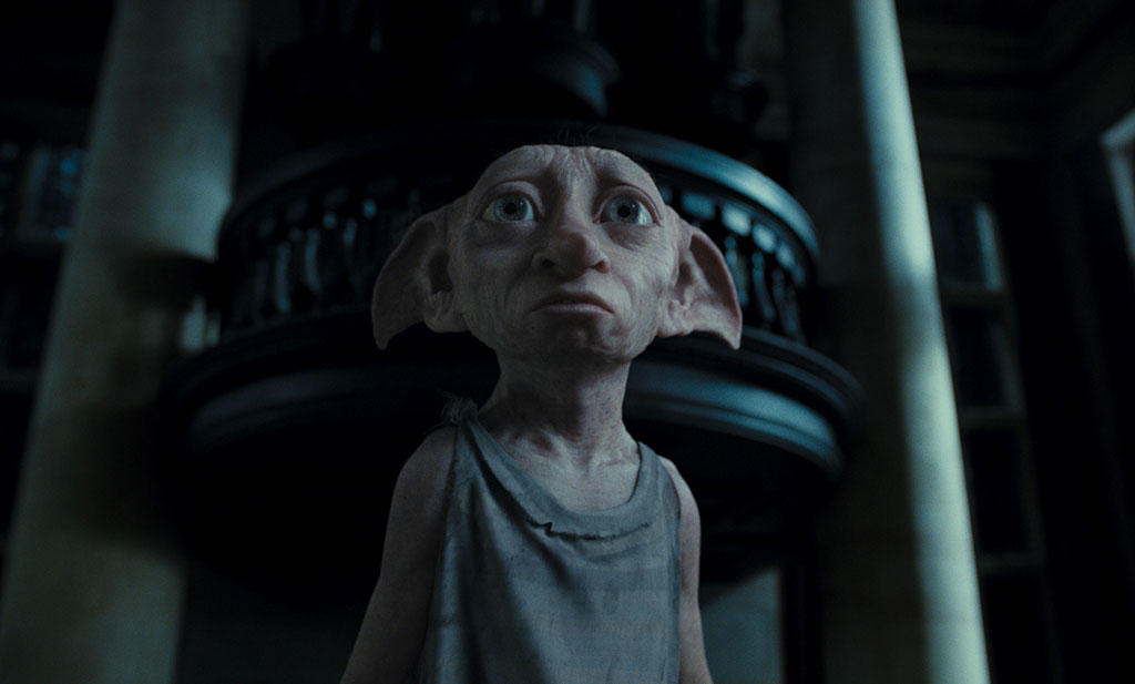 dobby harry potter and deathly hallows. on Dobby in Harry Potter