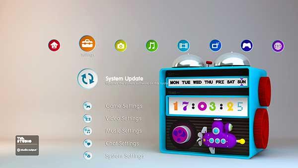 'Clock' dynamic theme by Studio Output.