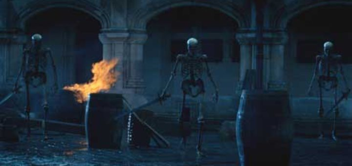 A winning effect shot from Merlin Series 3, Ep 2: The Tears of Uther Pendragon part 2