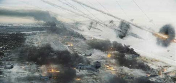 Sony/Columbia's Jonathan Liebesman directed disaster movie Battle: Los Angeles centres on a series of striking visual effects from.