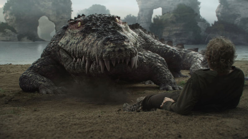 The CGI crocodile from Neverland