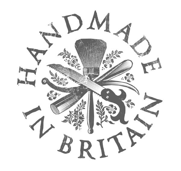 The design by devilfish for BBC Four and its new 'Handmade in Britain' series