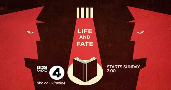 Design by devilfish for the BBC Radio 4 dramatisation of Vasily Grossman's Life and Fate.