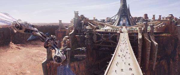 Helium City ©2011 Disney. JOHN CARTER™ ERB, Inc.