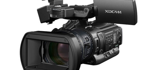 Image of the new Sony PMW-200 camcorder