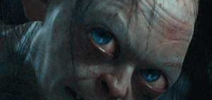 "Gollum, performed by ANDY SERKIS in the fantasy adventure ""THE HOBBIT: AN UNEXPECTED JOURNEY,"" a production of New Line Cinema and Metro-Goldwyn-Mayer Pictures (MGM), released by Warner Bros. Pictures and MGM. Photo courtesy of Warner Bros. Pictures"