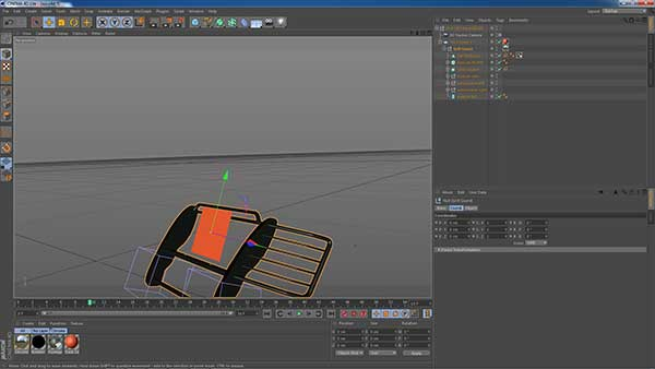 Live After Effects 3D Pipeline with Maxon Cinema4D