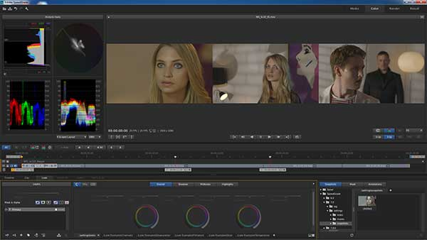 The new look Adobe SpeedGrade