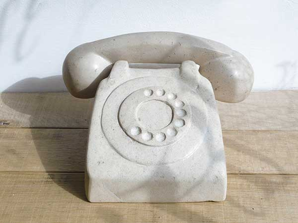 3rd Prize Winner : 'Stone Telephone,' by Cristina Guitian