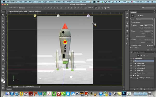 3D Printing workflow in Adobe Photoshop CC