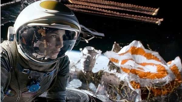 Sandra Bullock in Gravity (Warner Bros. Pictures)