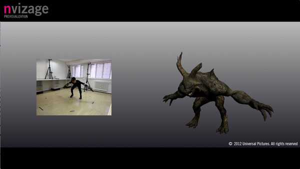 Nvizage, part of Ngroup, provided previs and mocap on Snow White and the Huntsman
