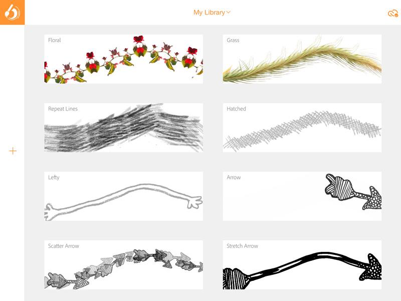 The Adobe Brush app