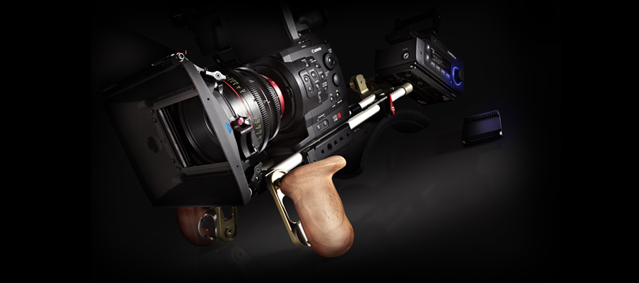 The 4K recording system features a Canon Cinema EOS C500 camera and Codex Onboard S recorder