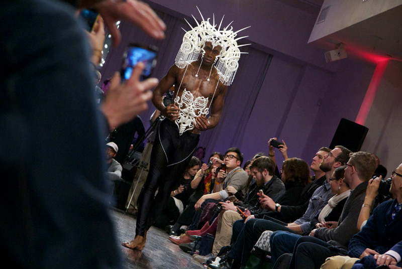 3D printed fashion by Joshua Harker