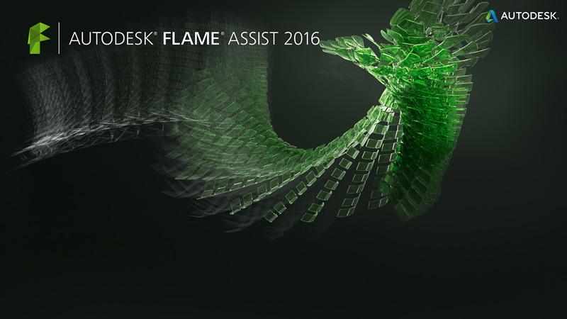 Flame assist splash screen art
