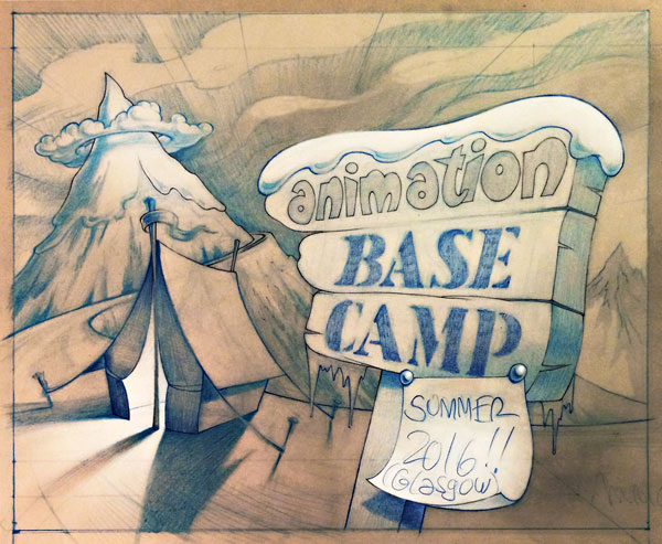 Animation Base Camp 2016 poster