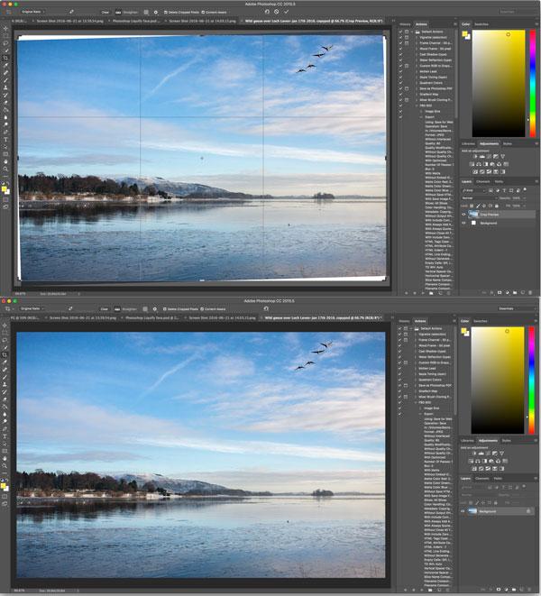 Photoshop Content-aware-crop