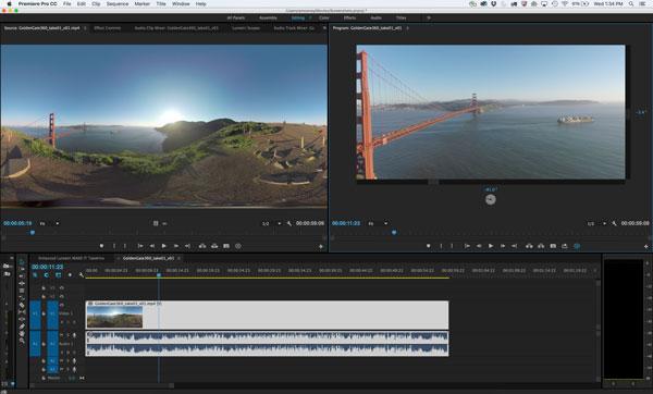 Premiere Pro's VR Field of View