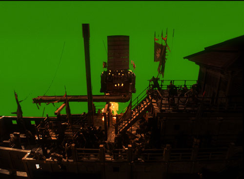 Red Cliff, a film by John Woo, with vfx by Frantic Films