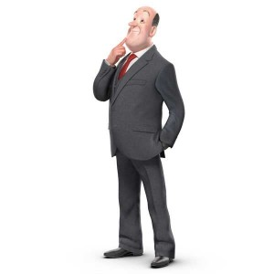Framestore has created a 3D digital character of Jeeves, for Ask.com