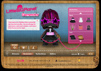 MySackboy Generator by Agency Republic, an example of 3D in Flash